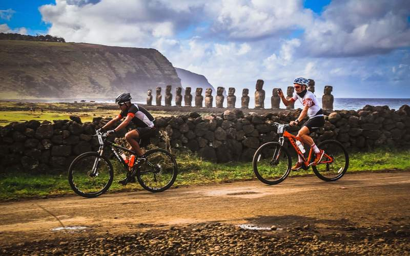 Image result for isla de pascua cycling