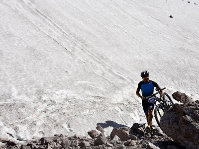 Mountain Bike Tour Valle Nevado